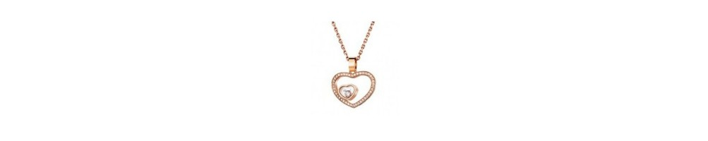 Chopard Jewelry Happy Diamonds Pendant - Happy Heart : price watches and jewelry : official agent : Horloger-.com
