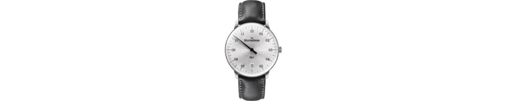 MeisterSinger Mono Hand - Higher functions : price watches and jewelry : official agent : Horloger-.com