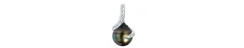 Négoce Îles - Tahitian Pearls - Pendants : price watches and jewelry : official agent : Horloger-.com